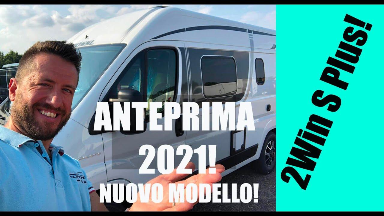 NUOVO  modello Possl 2Win S Plus! VAN 5,99m Novità 2021, ANTEPRIMA!