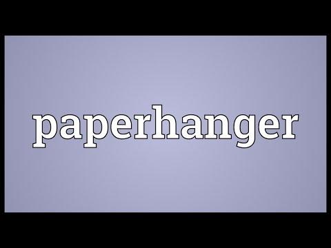 Header of paperhanger