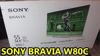 """Review Sony Bravia W80C Android TV 55"""""""