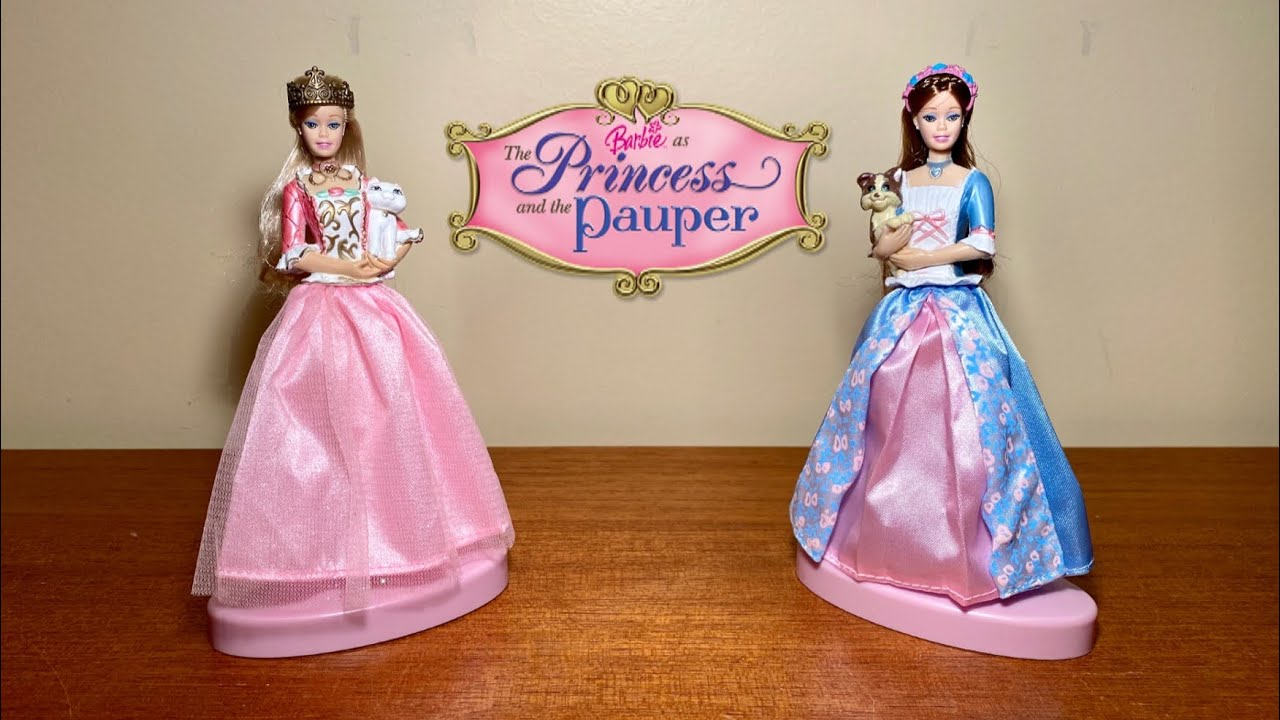 Barbie as The Princess and the Pauper Anneliese and Erika Fashion Doll Pen