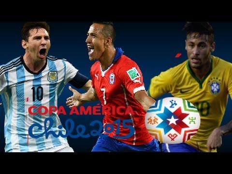 Lionel Messi vs Alexis Sanchez vs Neymar Jr ● Copa America ● Skills  Goals   2015 HD1