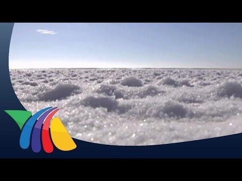 Salinera de Guerrero Negro , la más grande del mundo
