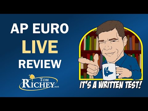 AP Euro Live Review With Tom Richey