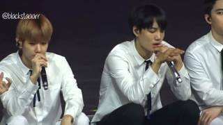 Download Video [HD FANCAM] EXOrDium in Manila  [Day1] - ACOUSTIC MEDLEY MP3 3GP MP4