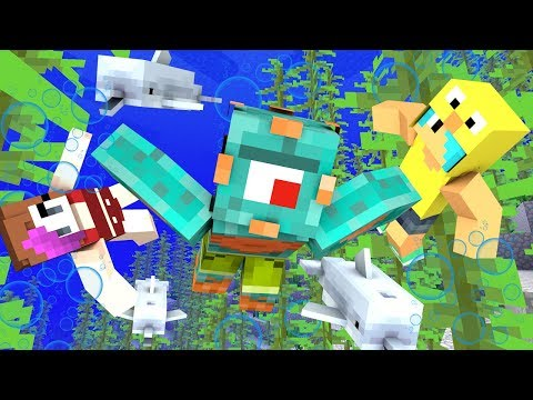 THE AQUATIC UPDATE IS OUT! | Minecraft Summer Survival Episode 7! | MicroGuardian