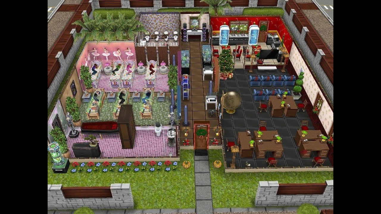 House Building Ideas For Sims Freeplay