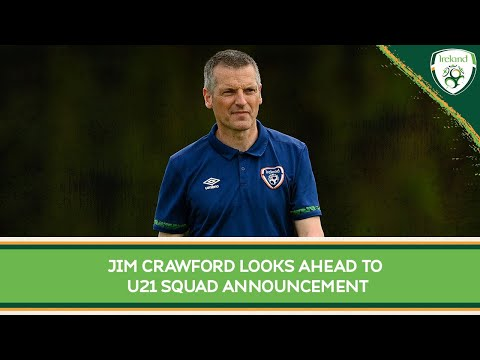 INTERVIEW | #IRLU21 Manager Jim Crawford looks ahead to squad announcement