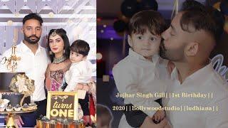 Jujhar Singh Gill || 1st Birthday || Sippy Gill & Arleen ||2020 || Bollywoodstudio || ludhiana ||
