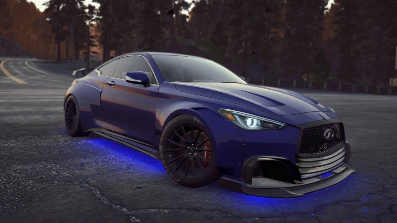Need For Speed Payback Infiniti Q60 S Race Build Youtube