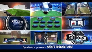 Video Soccer Pack | After Effects template download MP3, 3GP, MP4, WEBM, AVI, FLV Desember 2017