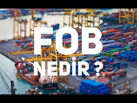 Lojistik ve Dış Ticaret Dersleri -Incoterms (Teslim Şekilleri) FOB(Free On Board)