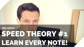 Speed Theory #1 - Learn Every Music Note in 3 Mins!