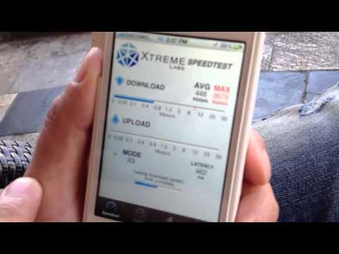 Guam 3G speed Test