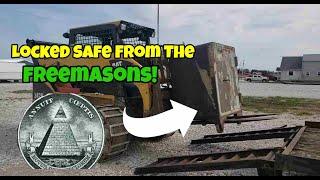 Cracking open a 18th Century FREEMASON Safe!