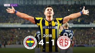 Fenerbahçe 4 - 1 Antalyaspor #Özet