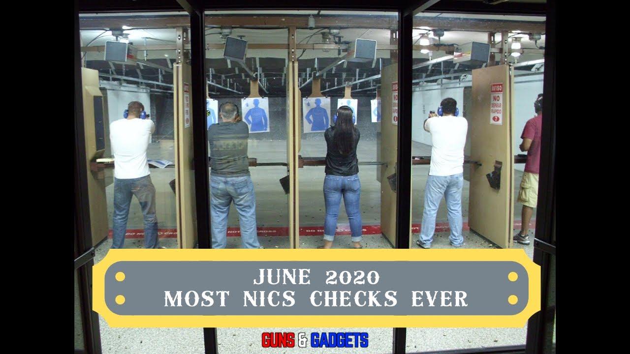June 2020: Most NICS Checks Ever