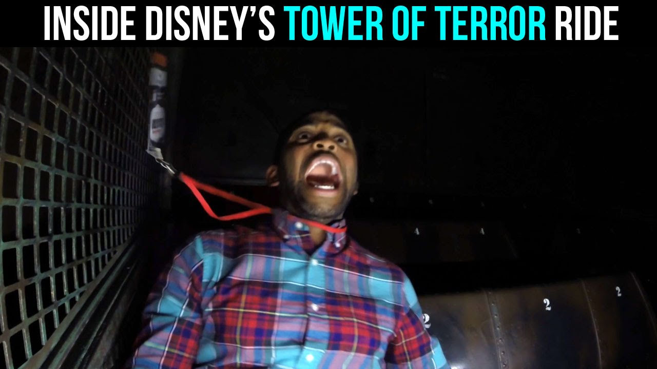 Inside The Twilight Zone Tower Of Terror Ride | MASSIVE ...