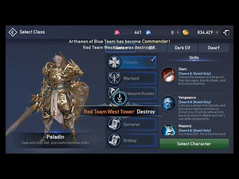 Lineage2 Revolution | Friday the 13th Open Fortress Siege | Aden01 | deathspecter