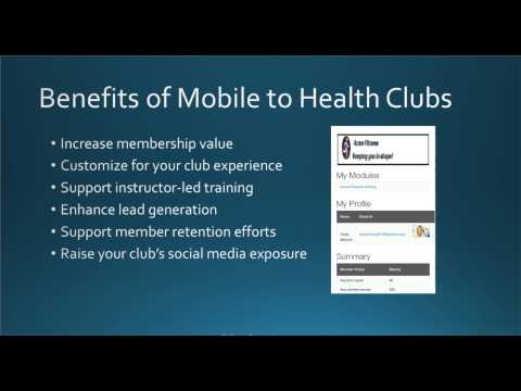 Mobile Technologies and Marketing Strategies for Health Clubs