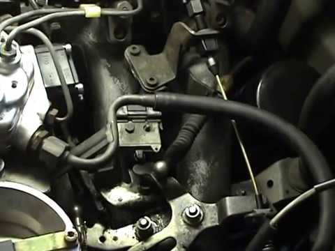 Mercedes 300E EHPA replacement plus Transmission & accelerator cable adjustment