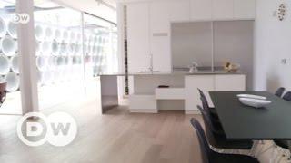 Eine moderne Villa mit Betonröhren | DW Deutsch