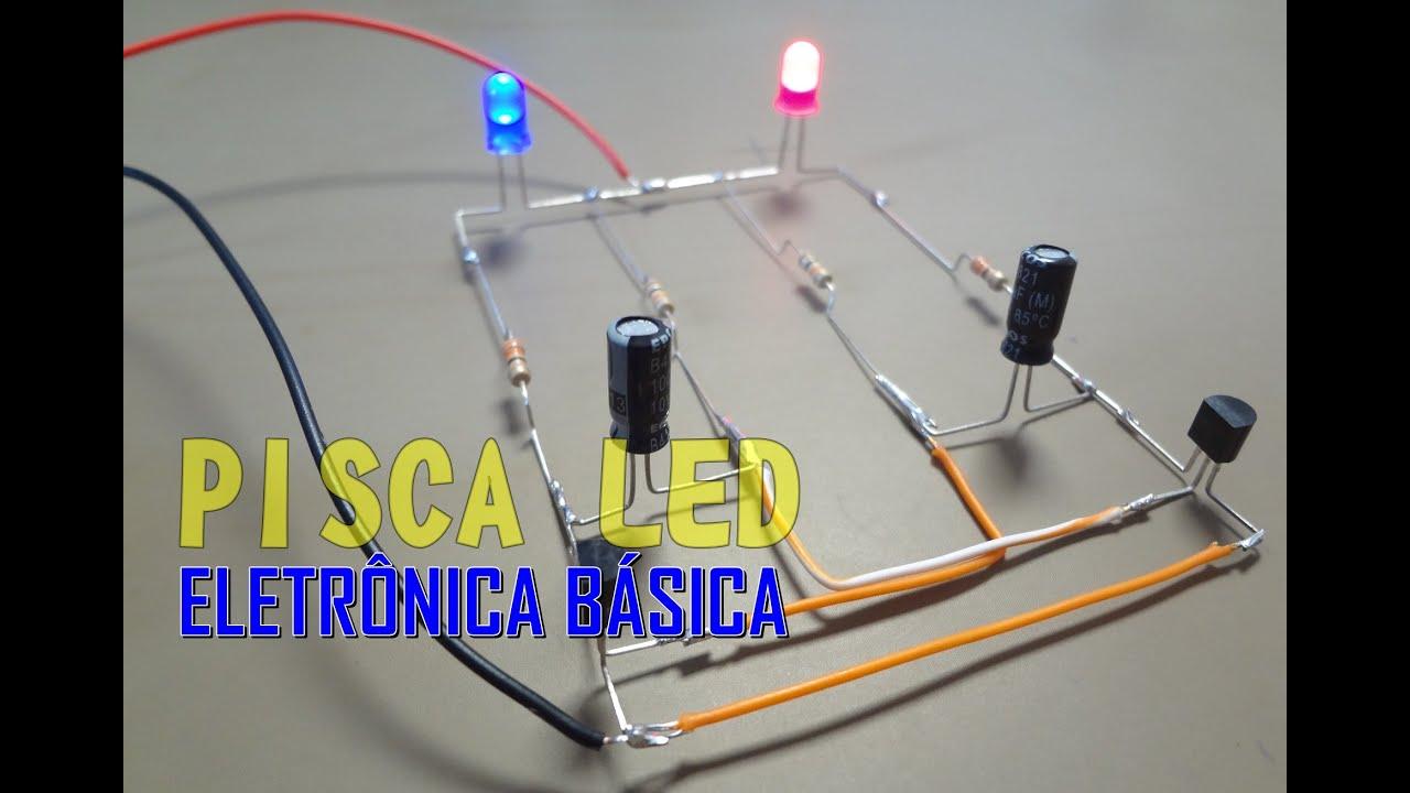 Circuito Eletronica : ⚡sÉrie eletrÔnica bÁsica como montar um circuito flip