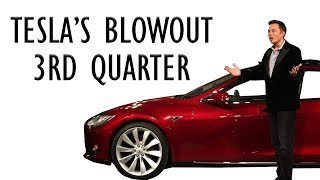 TESLA's Blowout 3rd Quarter