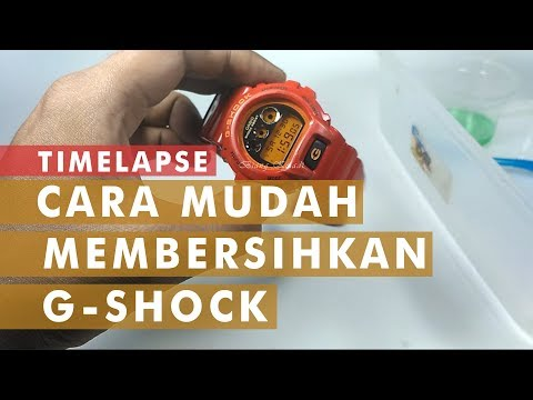 HOW TO EASY DEEP CLEAN CASIO G SHOCK DW 6900 / CARA MUDAH MEMBERSIHKAN G-SHOCK gshockindonesia