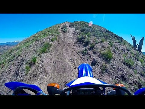 WR250R Trail Riding - Willow Creek 04/16/2016