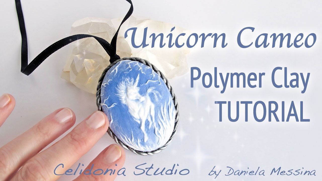 how to make cameos with polymer clay