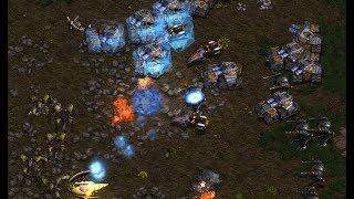 Bisu (P) v Flash (T) on Fighting Spirit - StarCraft  - Brood War REMASTERED