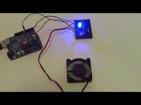 Led Dc 12v Wiring Arduino Controlling A Fan Youtube