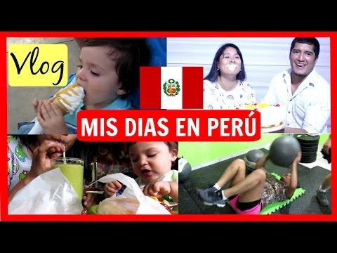 vlog Perú|desayunando en el mercado😄|Crossfit-haciendo ejercicios|visitando un establo🐽🐣🐓🐴