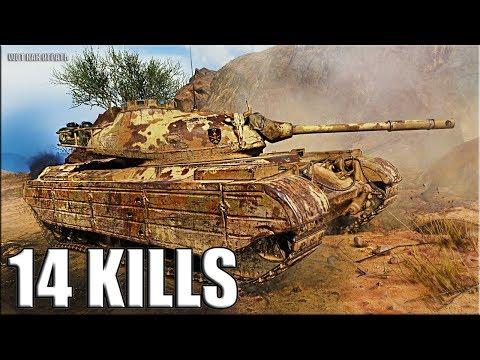 14 фрагов wot Progetto M35 mod 46 ЛУЧШИЙ БОЙ World of Tanks thumbnail