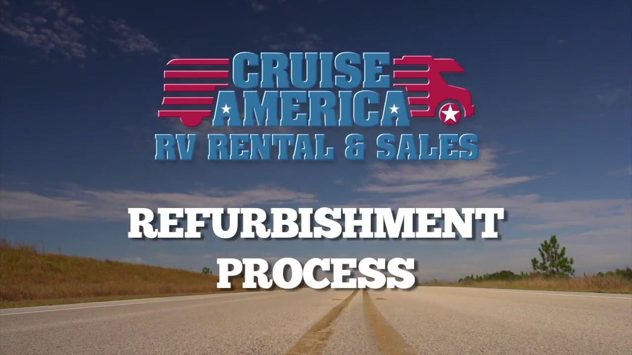 Cruise America Motorhome Refurbishment Process