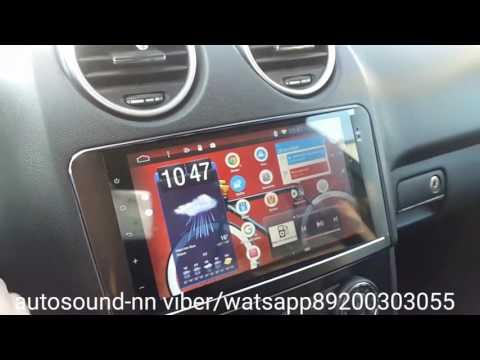 Обзор штатной магнитолы Mercedes-benz Ml/gl Android 4.4