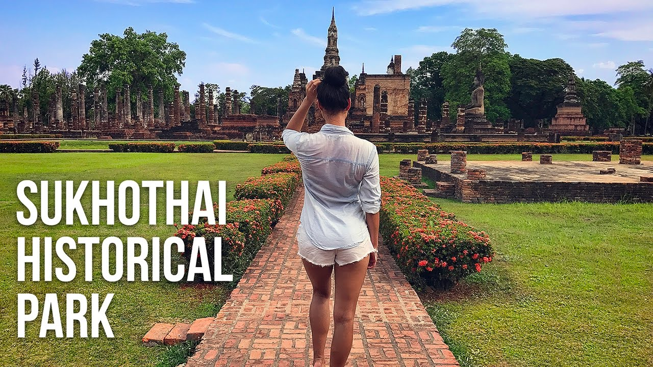 SUKHOTHAI HISTORICAL PARK  DJI Phantom 3 - YouTube