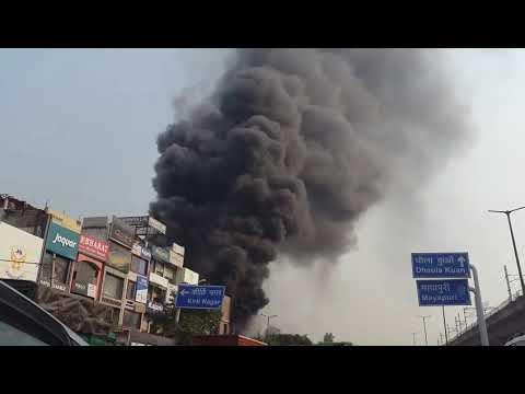 ENORMOUS FIRE at Rajouri Garden (marble market)😢😢😢😢