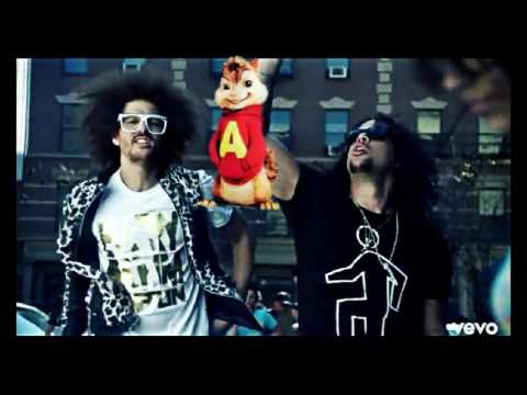 LMFAO-Party Rock Anthem ft Lauren Bennett, GoonRock LMFAOVEVO (صوت السناجب الصغار )