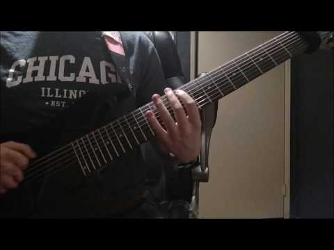 Meshuggah - Do Not Look Down Instrumental Guitar Cover