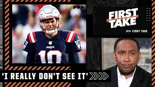 Stephen A. doesn't believe the Patriots can make the playoffs   First Take
