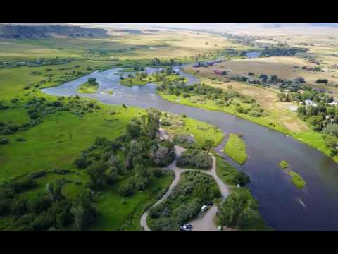 Mavic Over Montana, Ennis and the Madison River Valley