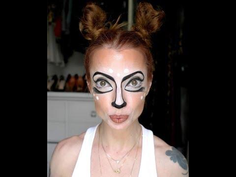 Julia Petit Passo a Passo Carnaval do Bambi Maquiagem