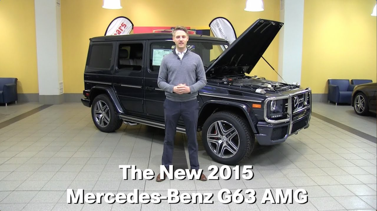 The new 2015 mercedes benz g63 amg g class g wagon for Mercedes benz bloomington mn