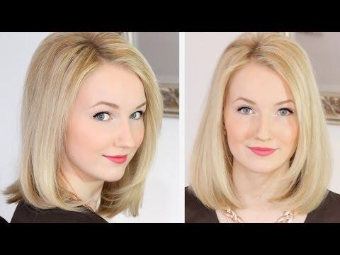 Meine Haarpflege und Styling Routine  LONGBOB  YouTube