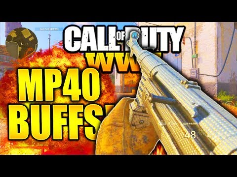 *NEW* HUGE MP40 BUFF IN COD WW2! AFTER PATCH MP40 CALL OF DUTY WW2 BEST CLASS SETUP! thumbnail