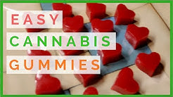 MAKING CANNABIS INFUSED GUMMIES WITH COCONUT OIL