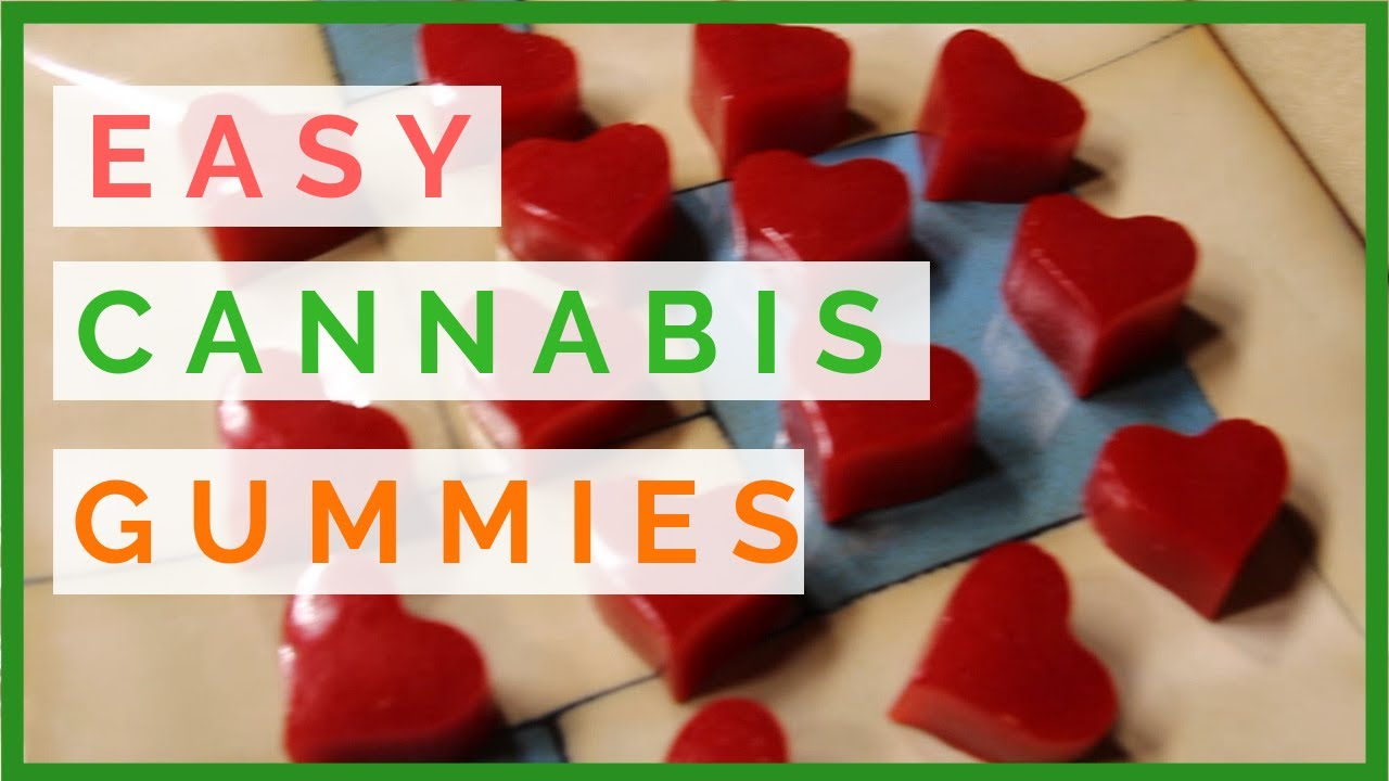 MAKING CANNABIS INFUSED GUMMIES WITH COCONUT OIL | Cannabis