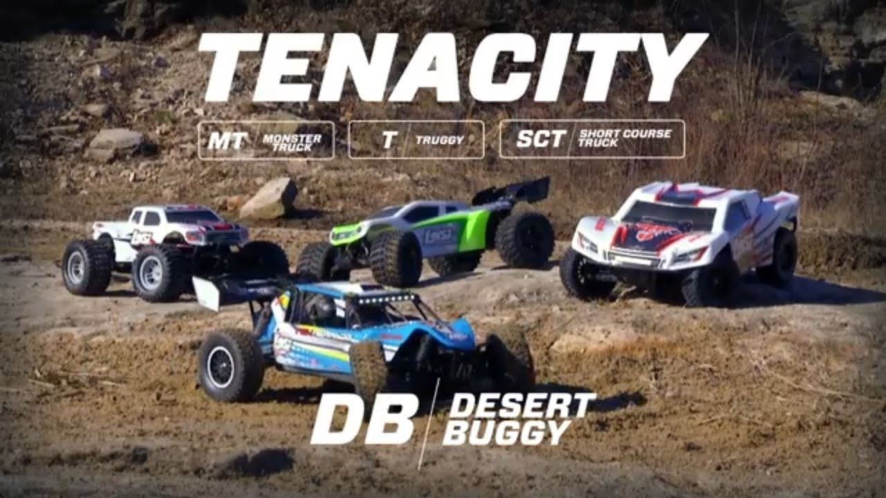 News 1/10 TENACITY-DB 4WD Desert Buggy RTR with AVC - RC Groups