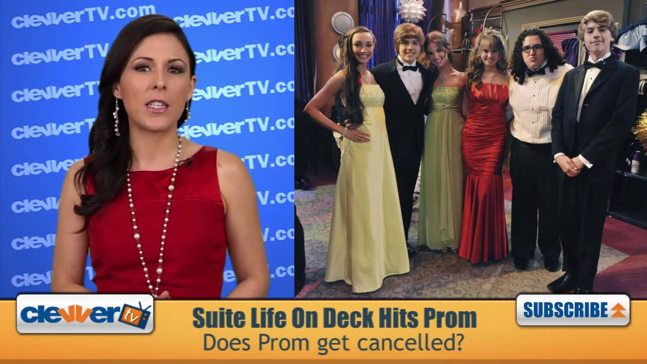 The Suite Life On Deck Goes To Prom - YouTube